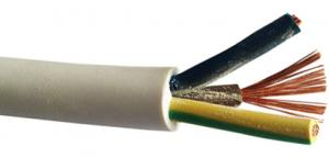 Flexible sheathed cable