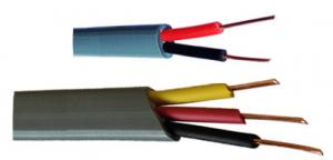 Flat Solid sheathed cable